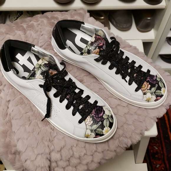 P448 Leather Sneakers